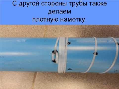Фильтра для обсадных труб своими руками