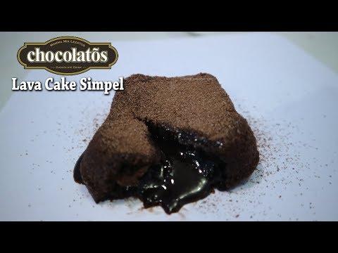 Resep Kue Lagi Hits Lava Cake Paling Mudah Tanpa Mixer
