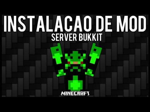 [Tutorial]Instalação de MOD em Server Bukkit - Minecraft