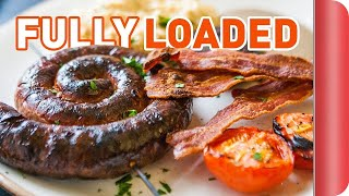 Fully Loaded English Breakfast Recipe | Big Night In