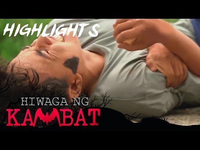 Iking injures as he protects Kikay from danger   Hiwaga Ng Kambat