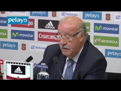 Del Bosque da la lista de convocados para la Eurocopa