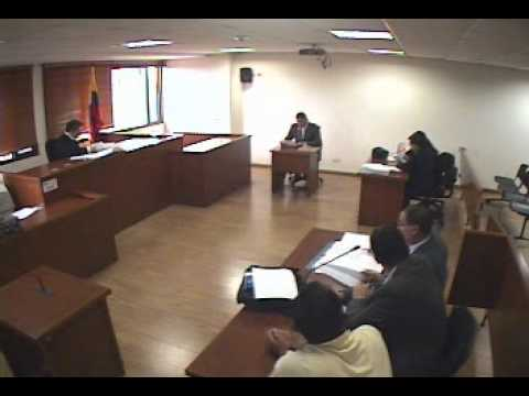 Juicio Oral interrogatorios No. 1