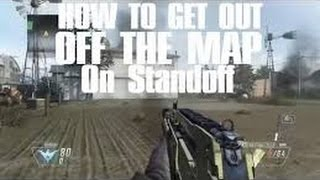 How to get out of the map on Standoff BlackOps2