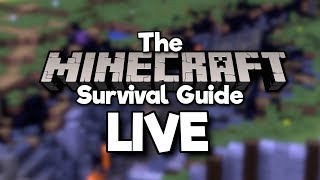 Minecraft Survival Guide Live! ▫︎ Tree Farming & Caving for Gold!