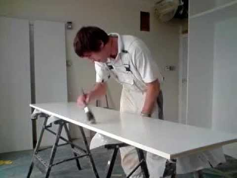 Mdf Wardrobe Painting Neat Craftsmen Decorating Services