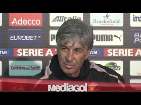 (2/2)Gian Piero Gasperini in conferenza stampa vigilia Palermo-Verona Tim Cup - Mediagol.it