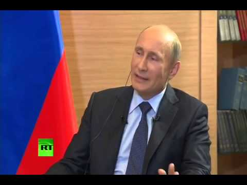 Vladimir Putin Commenting on Bashar al Assad's Re-election and Future of Syria