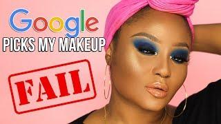 Google picks my makeup challenge....FAIL!