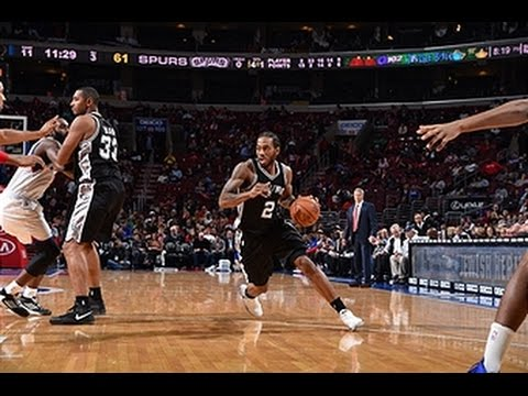 Kawhi Leonard Leads Spurs to Victory with Double-Double