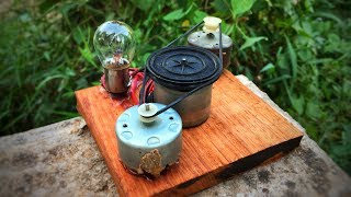 Free Energy Electric 2019 Generator 100% Self Running With DC Motor