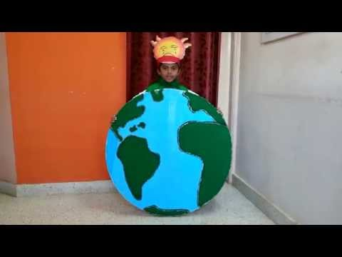 Global Warming - Save Earth Fancy Dress competition (Kids)