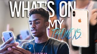 what's on my IPhone XS (IOS 12) 2018 // DDTV