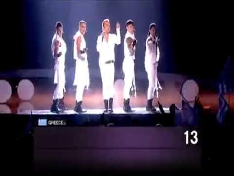 EUROVISION 2010 Greece!! (Semi-final)