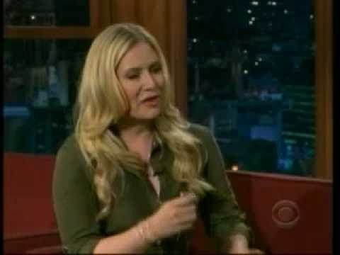 emily procter on craig ferguson. Black Bedroom Furniture Sets. Home Design Ideas