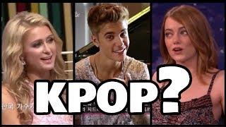 Artists talking about KPOP