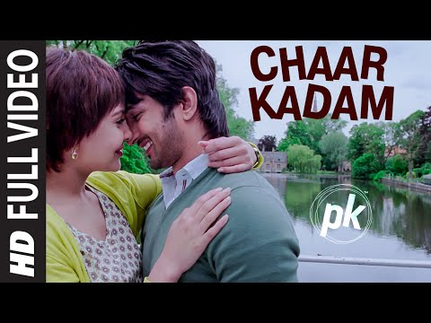 'chaar Kadam' Full Video Song | Pk | Sushant Singh Rajput | Anushka Sharma | T-series video