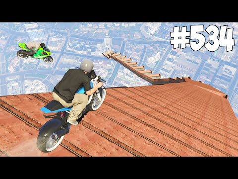 SKY RACE 1 ET 2 ! GTA 5 ONLINE COURSE #534