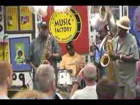 Dirty Dozen Brass Band @ Louisiana Music Factory JazzFest 2007