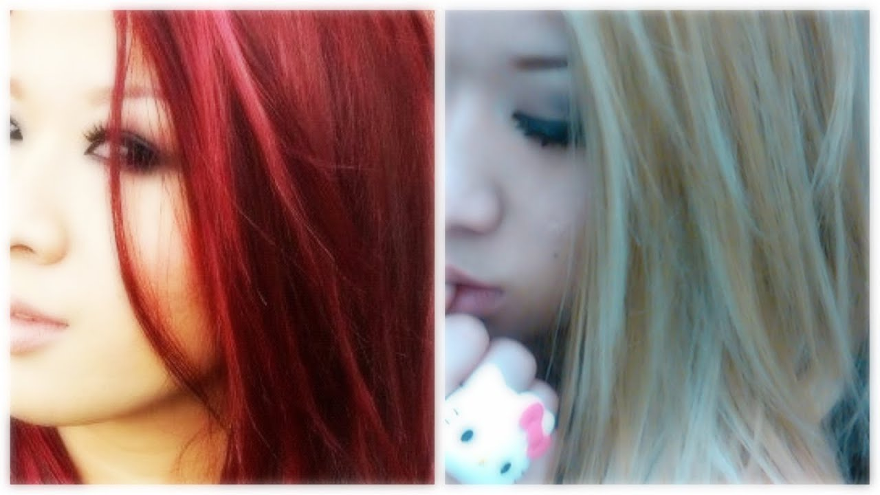 Dark Hair to Blonde Hair Before And After How to Dark Hair to Blonde