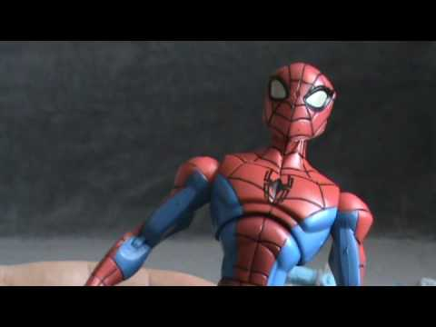 Toy Spot: - Spectacular Spiderman Electro Blast figure. Part 2