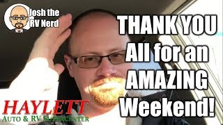 THANK YOU ALL for an Amazing Sale Weekend!