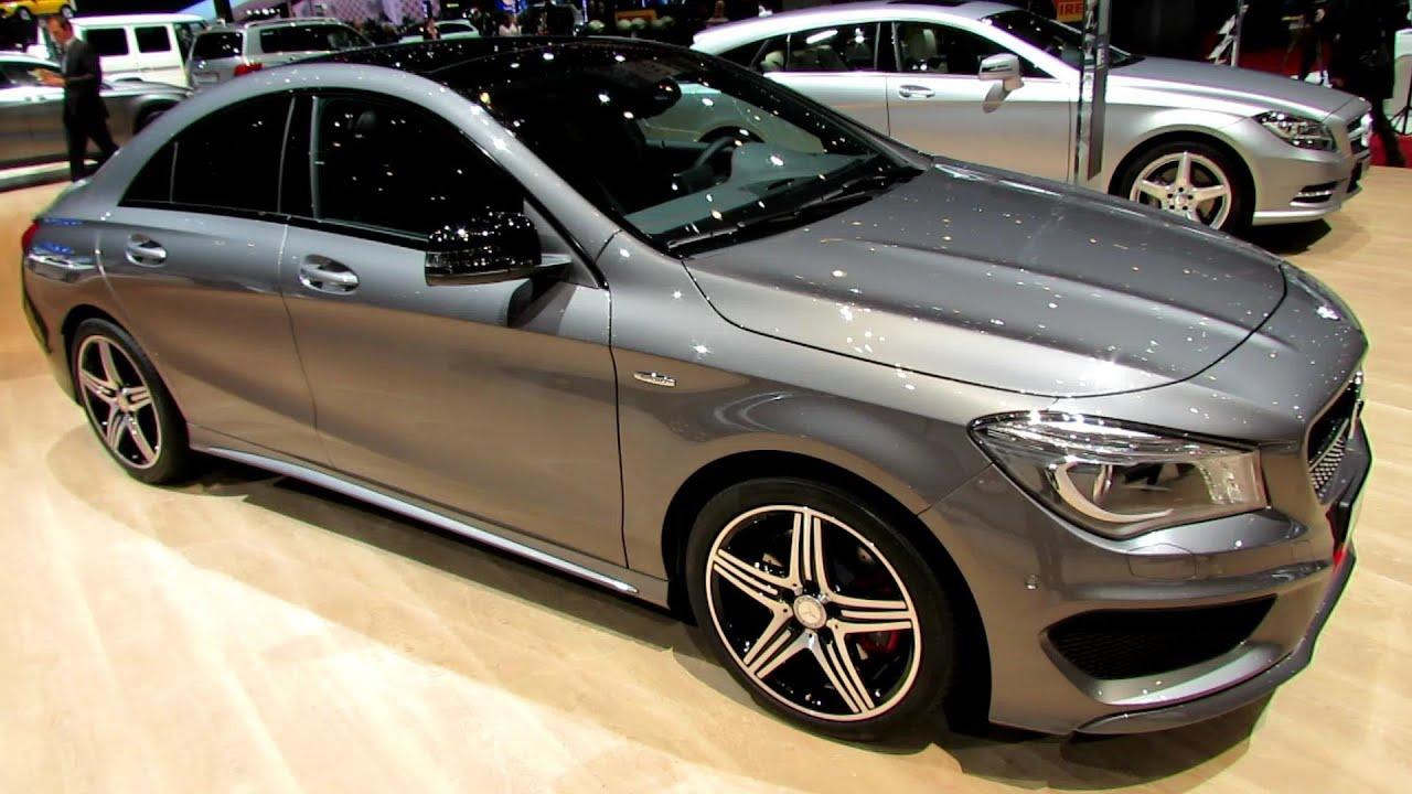 2014 Mercedes-Benz CLA-Class CLA250 Sport 4Matic-Exterior,Interior Walkaround-2014 Geneva Mo ...