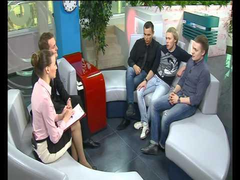 Интервью команды КВН Союз в программе Утро с Вами