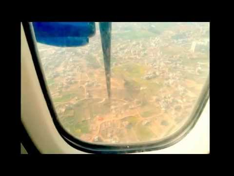 Buddha Air ATR42 Pokhara Airport to Kathmandu Nepal