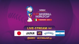 Япония до 23 : Никарагуа до 23