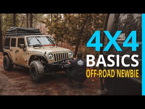 Off-Road Newbies: 4x4 Basics with our Jeep Rubicon