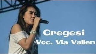 Karaoke GREGESI - VIA VALLEN Dangdut (Tanpa Vokal)