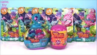 BLIND BAGS Opening TROLLS Series 9 POD PALS Capsule TOY Surprises