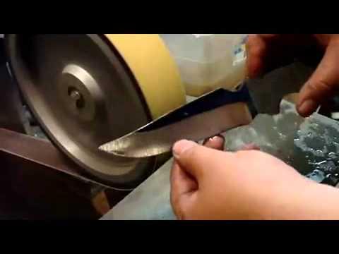 Изготовление ножа. часть 4-bizneshobby.com.mp4