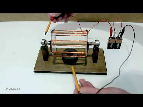 Homemade Electric Motor