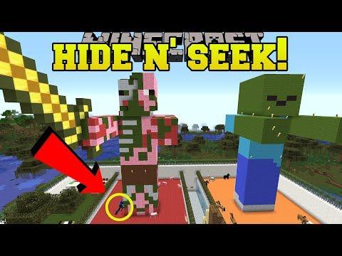 Minecraft: ENDER DRAGONS HIDE AND SEEK!! - Morph Hide And Seek - Modded Mini-Game