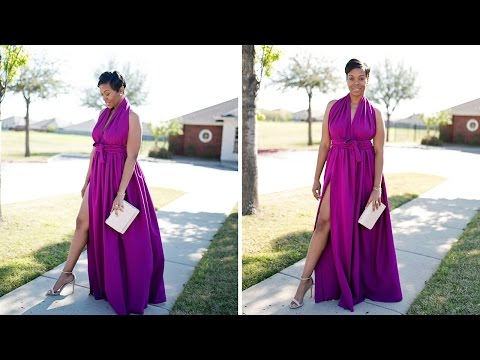 Sew With Me: Halter Dress with High Split