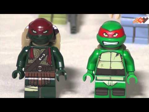 Конструктор Лего Черепашки Ниндзя (Lego Teenage Mutant Ninja Turtles) Освобождение фургона черепашек