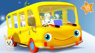 Wheels on the Bus! Songs for Children - Baby Music Videos 👶 Kids Nursery Rhymes