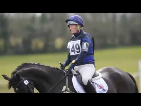 Zara Phillips at Ballindenisk
