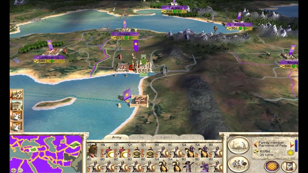 rome total war 2 за кого интереснее играть