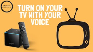 Turn On TV With Your Voice: Alexa Commands