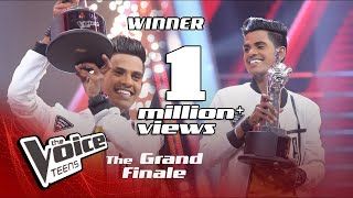 Winner   Hashen Dulanjana   Grand Finale   The Voice Teens Sri Lanka