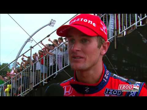Ryan Hunter-Reay Brazil Post Race Interview