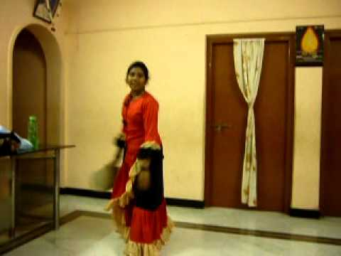 Lakshmi Garden - Vaibhav 2011 - Spanish Dance At Home By Priya video