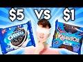 Name Brand vs. Zero Budget Blind Taste Test (PRANK!)