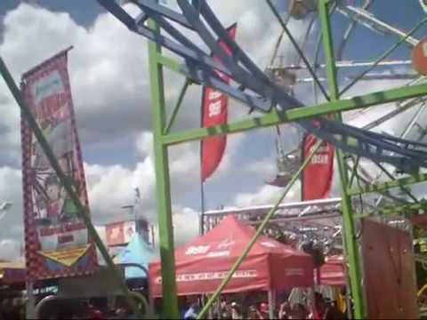 Worlds Worst Roller Coaster  Disaster Ever