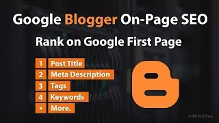 Perfect On-Page SEO for Blogger 2019