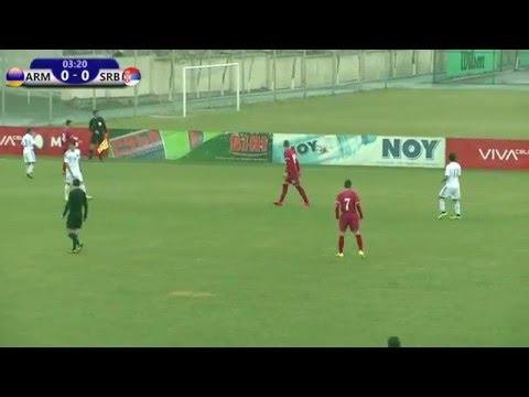 FFA/VSPORT/Մ19 Հայաստան - Մ19 Սերբիա/U19 Armenia vs U19 Serbia/15.03.2016