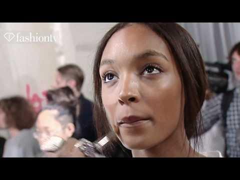 Jourdan Dunn Model Talk Spring Summer | FashionTV - FTV.com